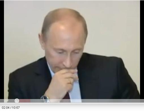 Путин, стыд